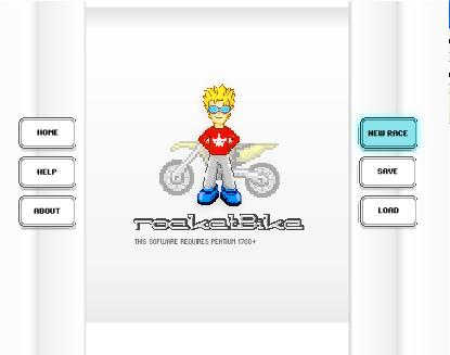 Minijuegos - Rocket Bike